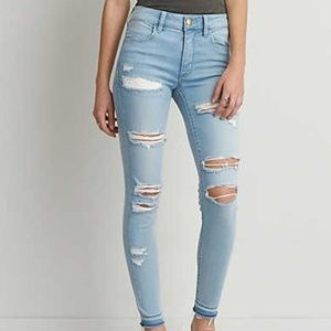 American Eagle Sateen X Air Hi-Rise Jegging